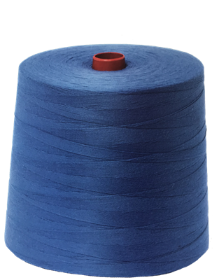 Bag sewing thread blue