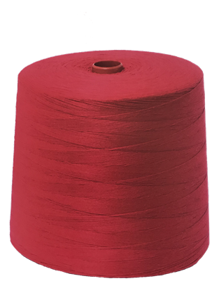 Bag sewing thread red