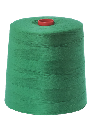 Bag sewing thread green