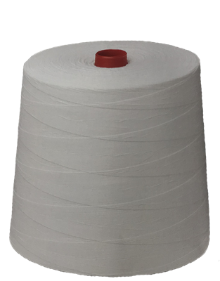 Bag sewing thread white